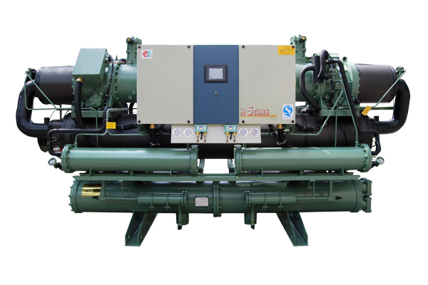 Water-cooled screw type low temperature chiller unit