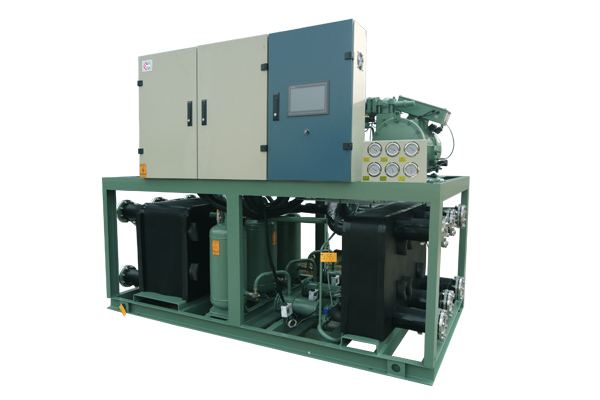 Dry Screw Water Source Heat Pump Unit