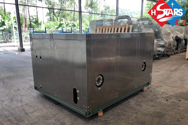 Anti corrosion heat pump unit