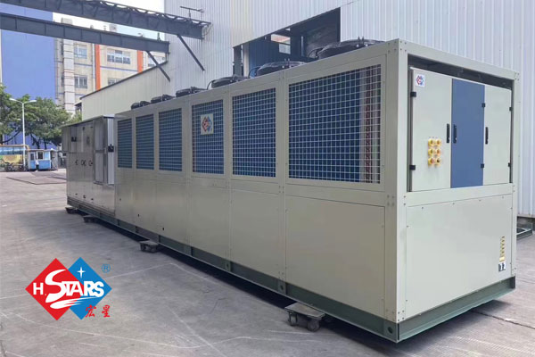 Modular Chiller with AHU