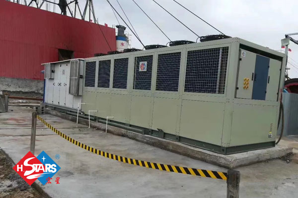 Customized Water Chiller with AHU